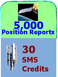 5,000 Position + 30 SMS credits