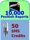 10,000 Position + 50 SMS credits