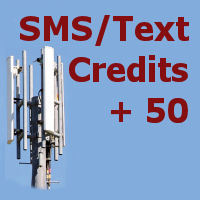 50 SMS credits