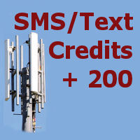 200 SMS credits