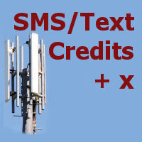 extra SMS credits