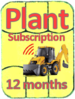 Plant Subscription 12 months