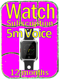 Sub Watch w Voice 12m